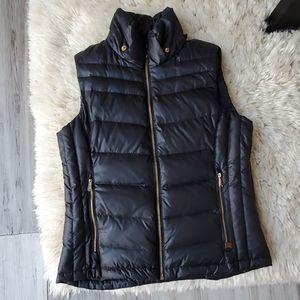 Michael Kors Full Zip Quilted Puffer Vest Gillet